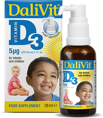 Dalivit D3 The sunshine Vitamin