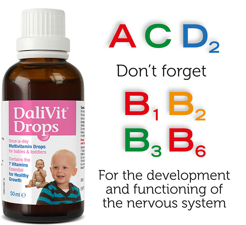 Dalivit essential vitamins