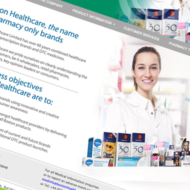 Boston Healthcare Website